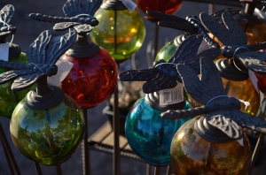 Dragonfly Globes, Tempe, Arizona, 2012