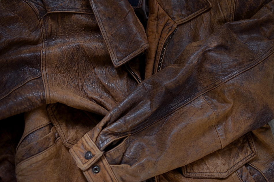 "Old Faithful, the jacket that has accompanied me on more shoots than any other single piece of ""gear"". 1/200 sec., f/2.8, ISO 100, 35mm."