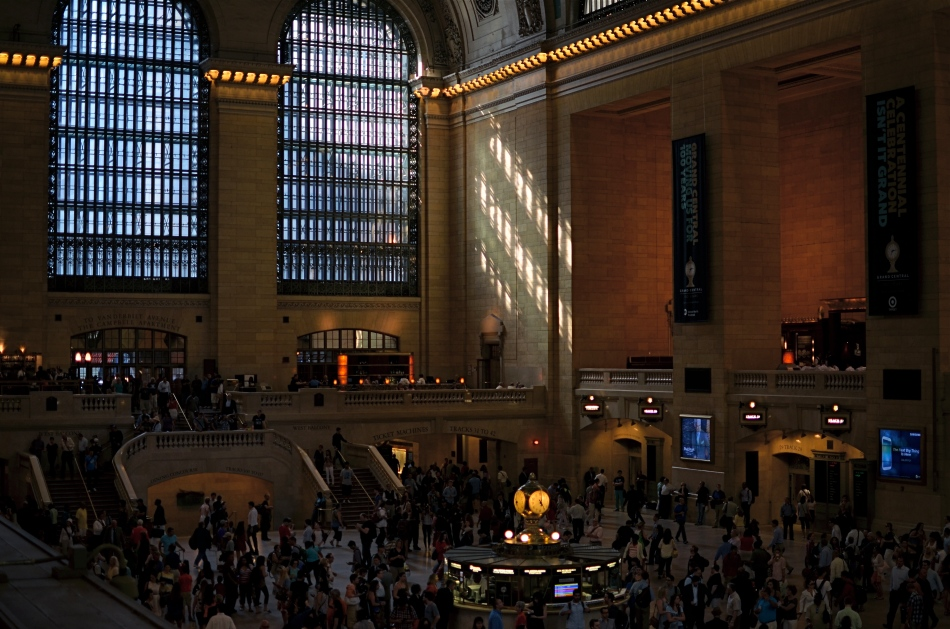 Grand Central Terminal, New York City. 2:11PM, June  21, 2013.