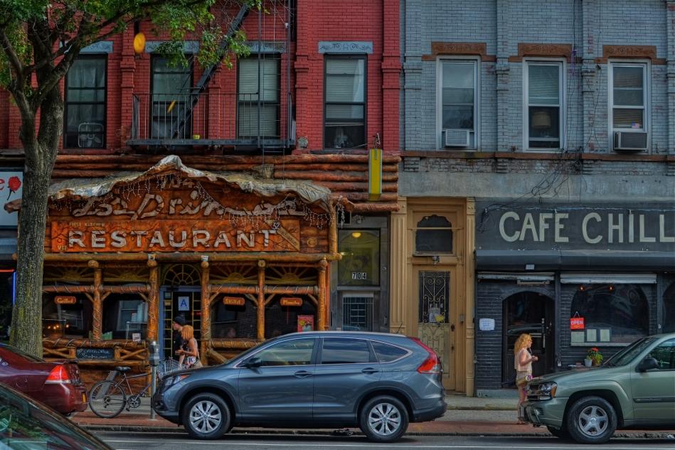 Cafe Chill, Brooklyn, 2013. 1/200 sec., f/5.6, ISO 100, 35mm.