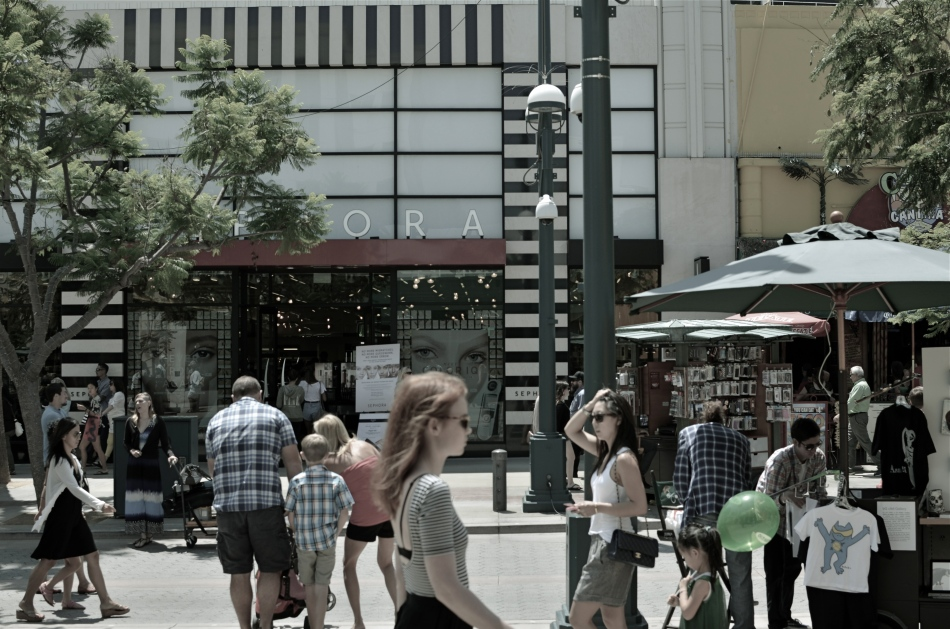 Third Street Promenade, Santa Monica, 2013.
