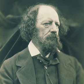 Julia Margaret Cameron, Portrait Of Alfred Lord Tennyson