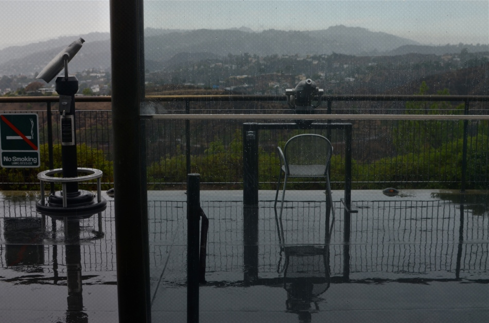 Rainy day, dream away. Griffith Observatory under early overcast, 11/29/13. 1/160, f/5.6, ISO 100, 35mm.