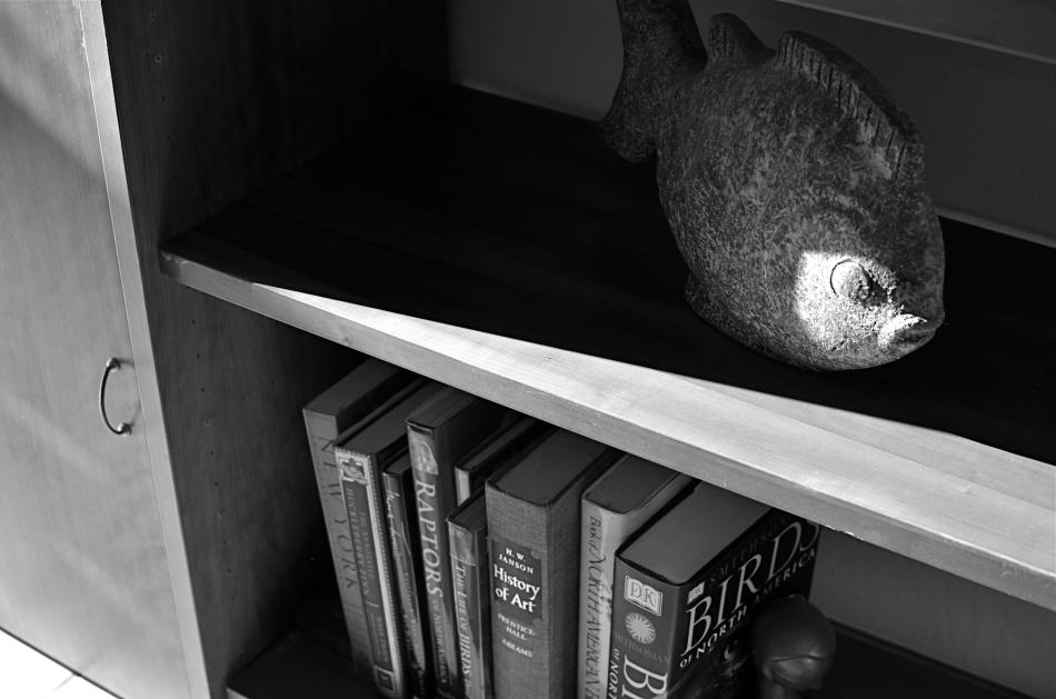 FIsh 'n'Books, 2013. 1/200 sec., f/3.5, ISO 100, 35mm.