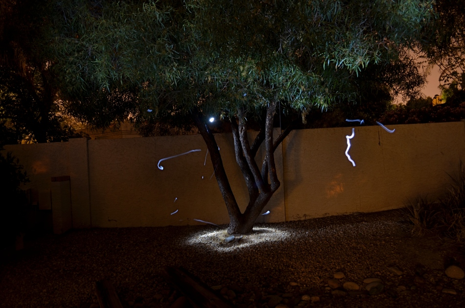 Shot in complete darkness and selectively lit with a handheld LED. Exposed for 73 seconds at f/4.5, ISO 100, 18mm.