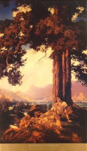 Beyond reality: the mood lighting of magazine illustrator par excellence Maxfield Parrish