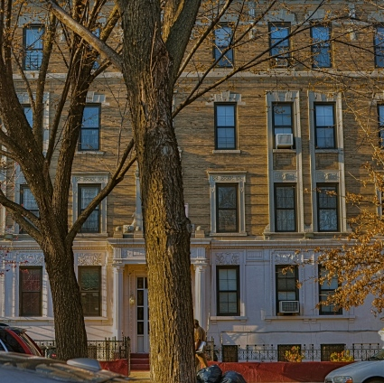 Brooklyn Block, 2014. 1/100 sec., f/5.6, ISO 100, 35mm.