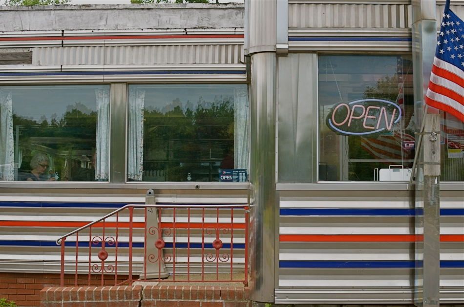 West Taghkanic Diner, Ancram New York, 2014. 1/60 sec., f/5.6, ISO 100, 35mm.