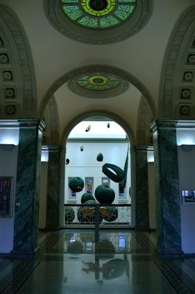 Inside Columbus, Ohio's Carnegie Library.