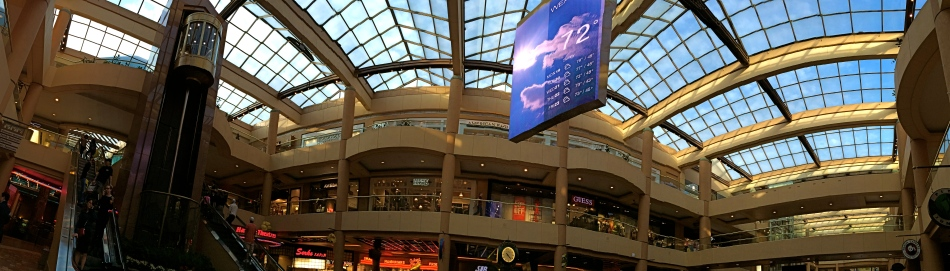 It's A Mall World, After All: iphone panoramics make good design tools, but they ain't about realism.