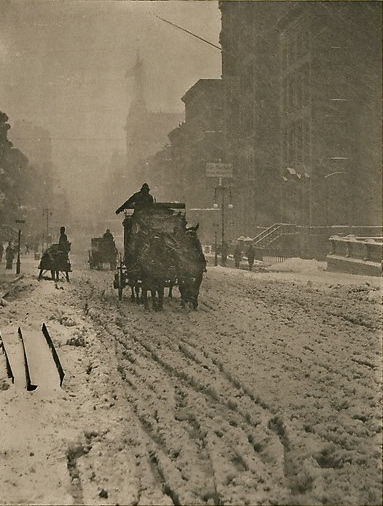 At the time of its initial publication, this image by Alfred Stieglitz was deemed a failure.