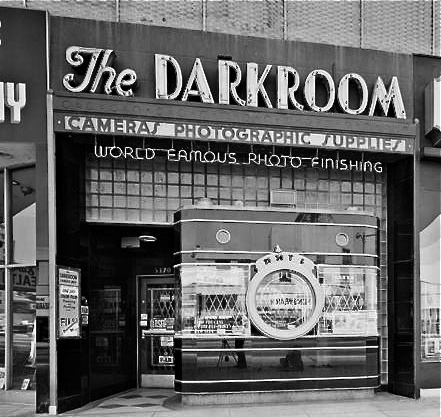 The Darkroom in its Kodachrome days.