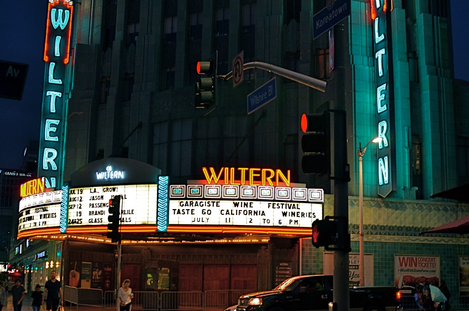 Wiltern On Wilshire, 2015.