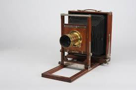 "The Gundlach-Corona View Camera, about as opposite from ""portable"" or ""convenient"" as you get."