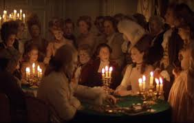 The result: Kubrick's candles-only lighting scheme for Barry Lyndon.
