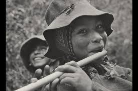 The Peruvian flute player whose portrait became the official visual logo of the Family Of Man project.