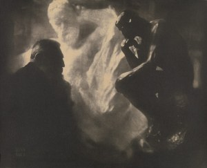 One of Edward Steichen's amazing portrait studies of the sculptor Auguste Rodin.