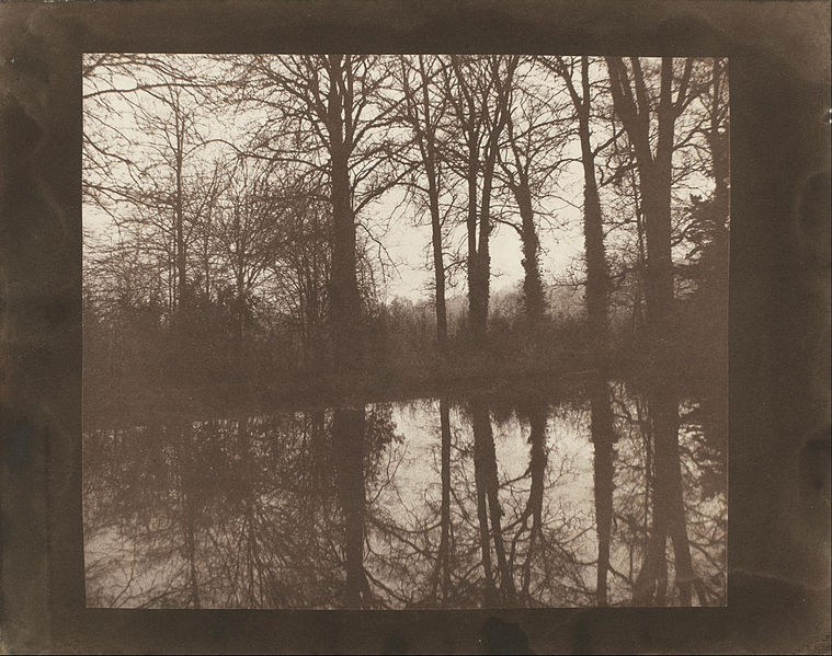 William Henry Fox Talbot, Trees And Reflections (1842). The master technician was also a master artist.