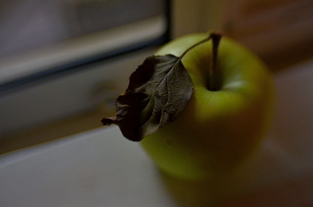 Just an apple. Or is it?