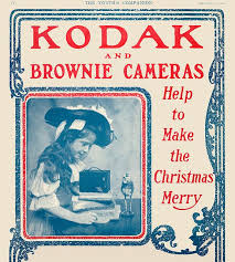 "Kodak used the most popular children's book chracters of the 1800's, the ""Brownies"" to sell kids' cameras."